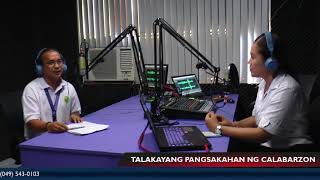 Episode 13 with Organic Agriculture Research and Development Center OIC Wilmer Faylon