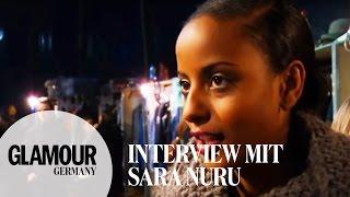 Sara Nuru: Backstage Bei G-Star