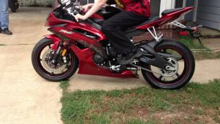 4. 2011 Yamaha R6....DROPPED!