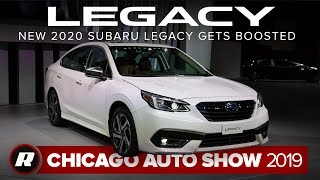 2020 Subaru Legacy packs turbo power | Chicago 2019 by Roadshow