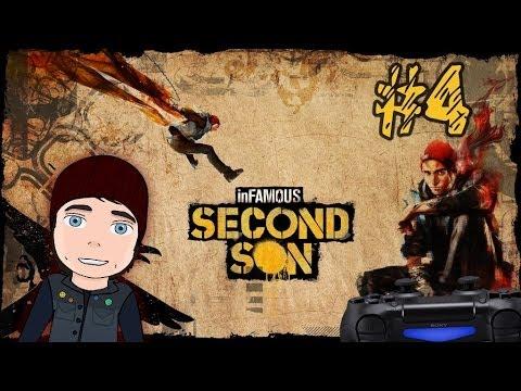 Infamous: Second Son #4 [Орбитальное падение - вещь!] 1080p