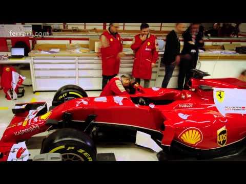 Ferrari F1 Stickering F14-T