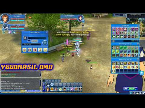 Digimon Masters Online- Scanning 10x Sale Eggs Part 1 -Let's Scan-