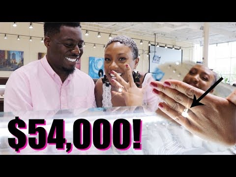 He Took Me Engagement Ring Shopping!!! 😩 | Long Distance VLOG 1 (part 1/2)