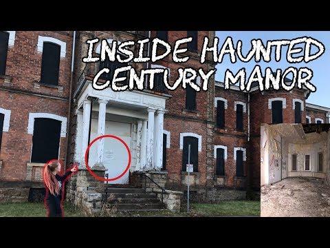 ABANDONED INSANE ASYLUM! (Century Manor Part 1)