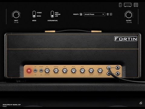 UNBIASED GEAR REVIEW - Fortin Nameless Suite Amp Simulator Plugin