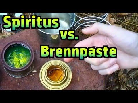 Trangia vs. M71 Notkocher (Spiritus vs. Brennpaste) #105
