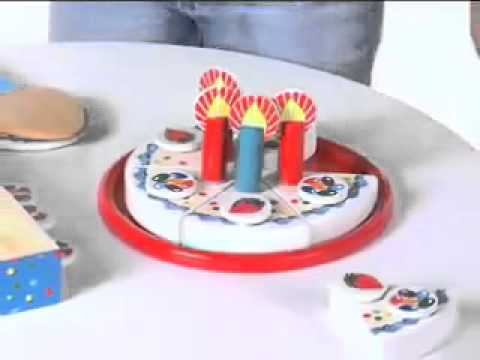 Melissa   Doug Wooden Birthday Party   G1620