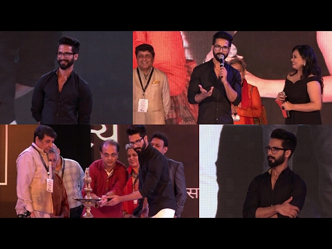 Shahid Kapoor Inaugurated The Kala Ghoda Arts Film Festival