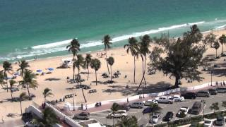 View from room in Bahia Mar by Double Tree Hilton in Fort Lauderdale