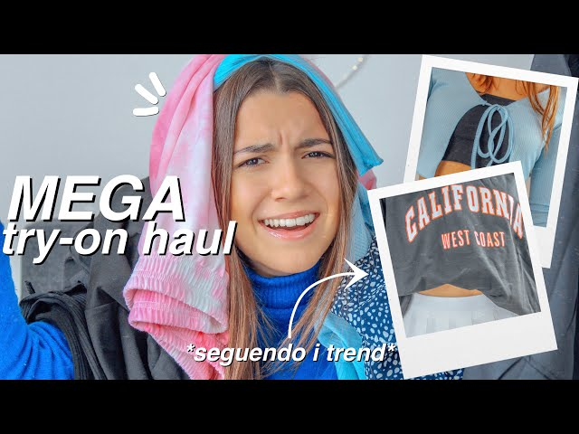 MEGA try-on haul *seguendo i trend del momento*