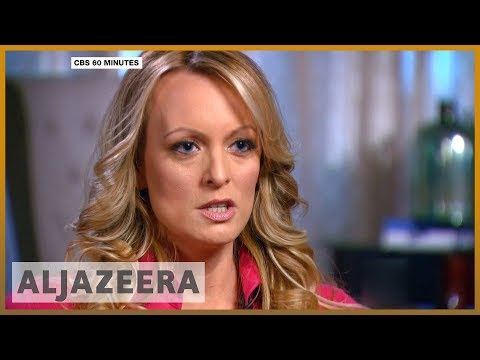 🇺🇸 Stormy Daniels 'threatened over Trump affair' | Al Jazeera English