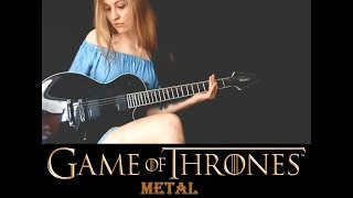 Metal cover of GoT :DPrepare for the premiere of season 7!Raziel- drum maker:https://soundcloud.com/chriss-augustynowiczhttps://www.facebook.com/Apoxiel------------------------------------------------------------------------------Original song made by Game of ThronesI do not own any rights to this song, this is only a cover.------------------------------------------------------------------------------Credits made by my sister.CORNY MISTICKthe animator• YT: https://www.youtube.com/channel/UC-MI5ZwSyQelfVjGt-2c4cg• FB: https://www.facebook.com/cornymistickart• dA: http://cornymistick.deviantart.com------------------------------------------------------------------------------ RECORDING STUFF:GUITAR: Jackson Monarkh Pro SeriesAUDIO: Line6 POD XT LiveVIDEO: Xiaomi Redmi Note 4------------------------------------------------------------------------------ ISSABELTHIzabela Ewa Przysiê¿niakBorn 1994Poland• my FB fanpage: https://www.facebook.com/issabelthofficial• my FB private account: https://www.facebook.com/issabelth• my own music: http://soundcloud.com/issabelth• my art: http://issabelth.deviantart.com/HOW TO CONTACT ME:• through a YouTube message• through Facebook- https://www.facebook.com/issabelthofficial• through e-mail- issabelthv@gmail.com