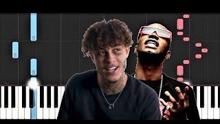 Juicy J - Let Me See ft Kevin Gates, Lil Skies (Piano Tutorial)