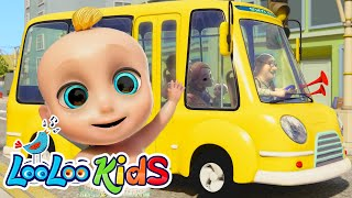 Video 🚍 The Wheels On The Bus 🚌 Fun Songs for Children | LooLoo Kids MP3, 3GP, MP4, WEBM, AVI, FLV Februari 2019