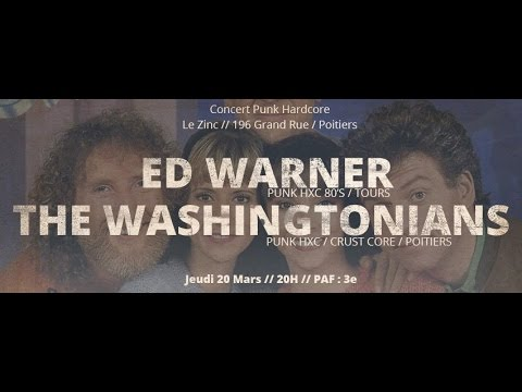 ED WARNER + THE WASHINGTONIANS @ Poitiers