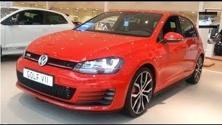 Volkswagen Golf 7 VII GTI 2014 In Depth Review Interior Exterior