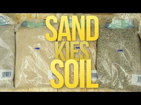SAND, KIES oder SOIL - UNTERSCHIED & BESTE WAHL?