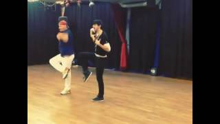 Rehearsing with Michael Jackson Dancer Mic Thompson