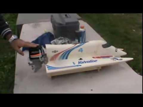formula one f1 graupner rc boat tuned 4s