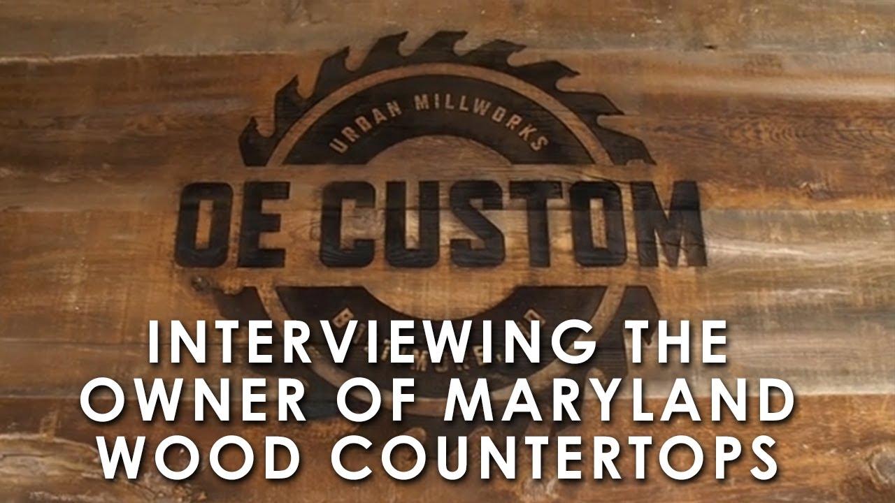 Maryland Wood Countertops