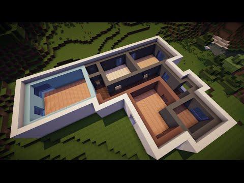 Пошаговое строительство дома в майнкрафте