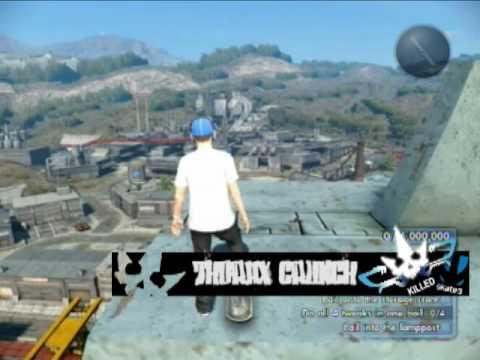 Skate 3: Mass Murderer Guide - HOM Thorax Crunch
