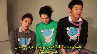 120910 JYJ NII Making Film[Persian (Farsi) Sub]