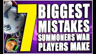 Video 7 Biggest Mistakes Summoners War Players Make MP3, 3GP, MP4, WEBM, AVI, FLV September 2019