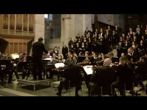 chorus - The opening chorus of St Matthew Passion by J.S. Bach. Performed by Malmö Chamber Choir and orchestra on April 8, 2009, in Lund Cathedral, Sweden. Conducted ...
