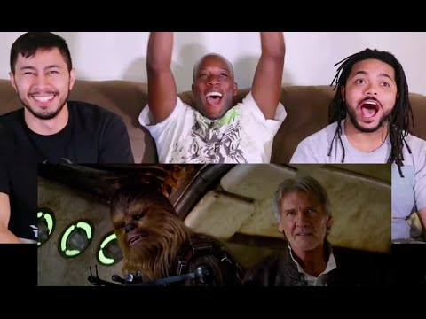 Download STAR WARS The Force Awakens Teaser Trailer #2 Reaction with Syntell, Chuck, and Anthony HD Mp4 3GP Video and MP3