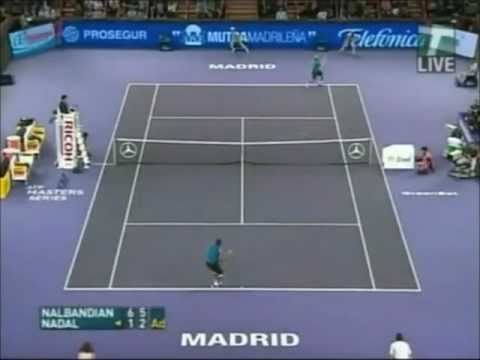 Nalbandian - David Nalbandian's two-handed backhand is called the