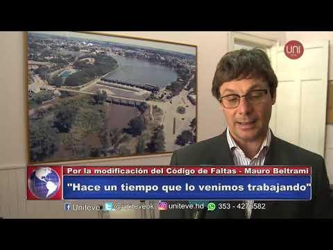 Mauro Beltrami - Por la modificación del Codigo de Faltas