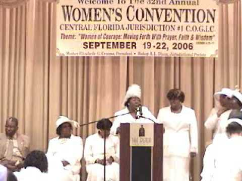 Old School COGIC Praise and shout with Mother Willie Mae Butts