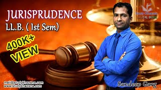 Jurisprudence is the study and theory of law. It includes principles behind law that make the law.The course shall comprise of the following:1) Legal Person: a) Nature and Concept  b) Theories of legal personality2) Legal Rights and Duties: a) Definition, Basis and Characteristics of Legal Rights and Dutiesb) Kinds of Legal Rightsc) Relationship between Rights and Duties3) Possession and Ownership:a) Possession in Fact and Possession in Lawb) Relation between Possession and Ownership4) Liability:          a) Theory of Remedial Liability b) Theory of Penal Liability5) Law and Morality:                  a) Relation between Law and Moralsb) Legal Enforcement of Morality6) Sources of Law:                    a) Custom, Precedent and Legislation7) State and Sovereignty8) Law and Justice: a) Concept of Justice                                    b) Theories of Justicec) Administration of JusticeSandeep Garg is a professor of  Law with teaching experiences in Royal College of Law, Global College of law in Ghaziabad and Keshav Madhav Vidhi Sansthan a guest faculty. He is currently teaching in Keshav Madhav in Greater Noida. Sandeep Sir is a phenomenal teacher and motivator. He has passion of teaching to the core of the subject.He takes care of each important topics and keeps on informing you the questions generally asked in the exam, their weight-age and importance.His lecture even if taken a few days before exams will let you get good marks.His lectures and your efforts will be the key to success.To watch more tutorials visit: https://www.youtube.com/c/StudyKhazana** Stay Connected with Us **https://www.facebook.com/studykhazanahttps://twitter.com/studykhazanaahttps://www.instagram.com/study_khazana/Full Course and Lecture Videos now available on (Study Khazana) login at http://studykhazana.com/Contact Us : +91 8527697924Mail Us : mail@studykhazana.com