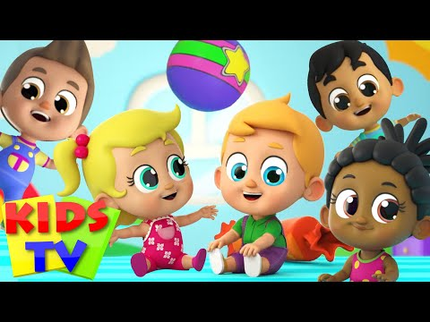 Five Little Babies Jumping on the Bed   Kids Tv Nursery Rhymes & Baby Songs