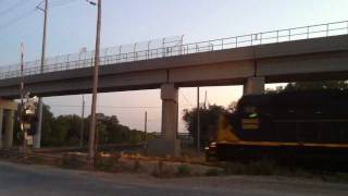 Mcneil (TX) United States  City new picture : 6 Engines Austin Western Railroad Train McNeil, Texas July 31, 2011