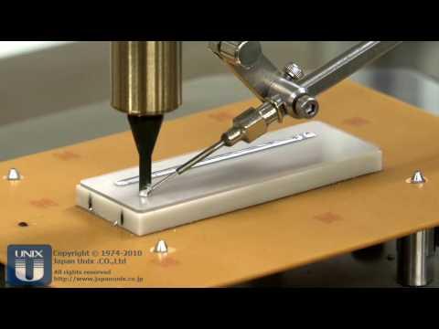 Ultrasonic soldering 超音波はんだ付 フラックスレスでガラス面をはんだ付 アルミやステンレスも可 ロボット・自動機