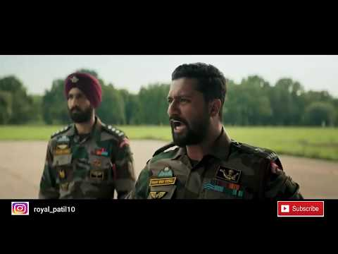 URI the Surgical Strike | Deleted Strike scene | Feel proud to be an INDIAN |
