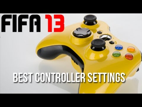 Best FIFA 13 Controller Settings - Competitive Setup