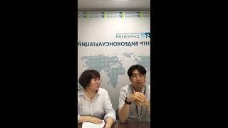 Девятый прямой эфир «Можно ли избежать карантина в Корее?» с директором Ли Ю Ён