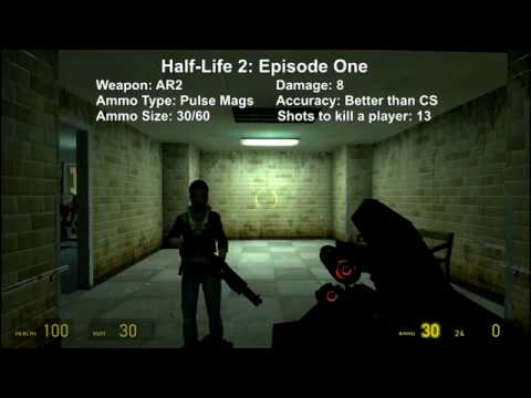 The Assault Rifles of Half-Life