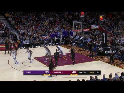 2nd Quarter, One Box Video: Cleveland Cavaliers vs. Sacramento Kings
