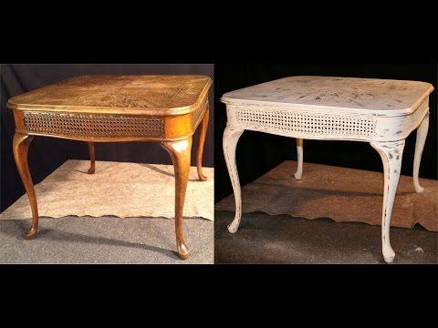 shabby chic - come dare un nuovo look ad un vecchio tavolino