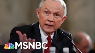 Adam Entous, national security reporter for The Washington Post, talks with Brian Williams about the discovery that Jeff Sessions...
