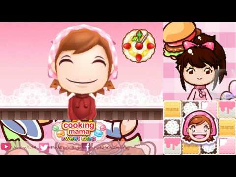 Cooking Mama: Sweet Shop - 5/21/2017 Stream (Finishing The Game!)