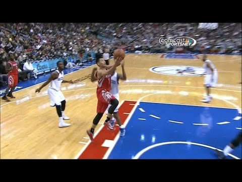 Jeremy Lin Highlights: 34 points, 12 assists vs. Philly
