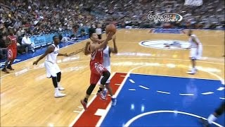 Lin ( 34 pts, 11 ast ) + Rockets: Game 9 vs. 76ers (11-13-2013)