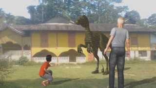 Selama Malaysia  city photos : Dinosaur in Sungai Bayor Selama Perak Malaysia