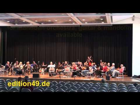 Kikerpuu Dance Song Tantsulaul Mandolin Orchestra Estonia Eesti Mandoliinide Orkester (видео)